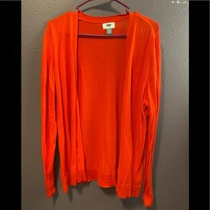 Old Navy cardigan XXL coral color.